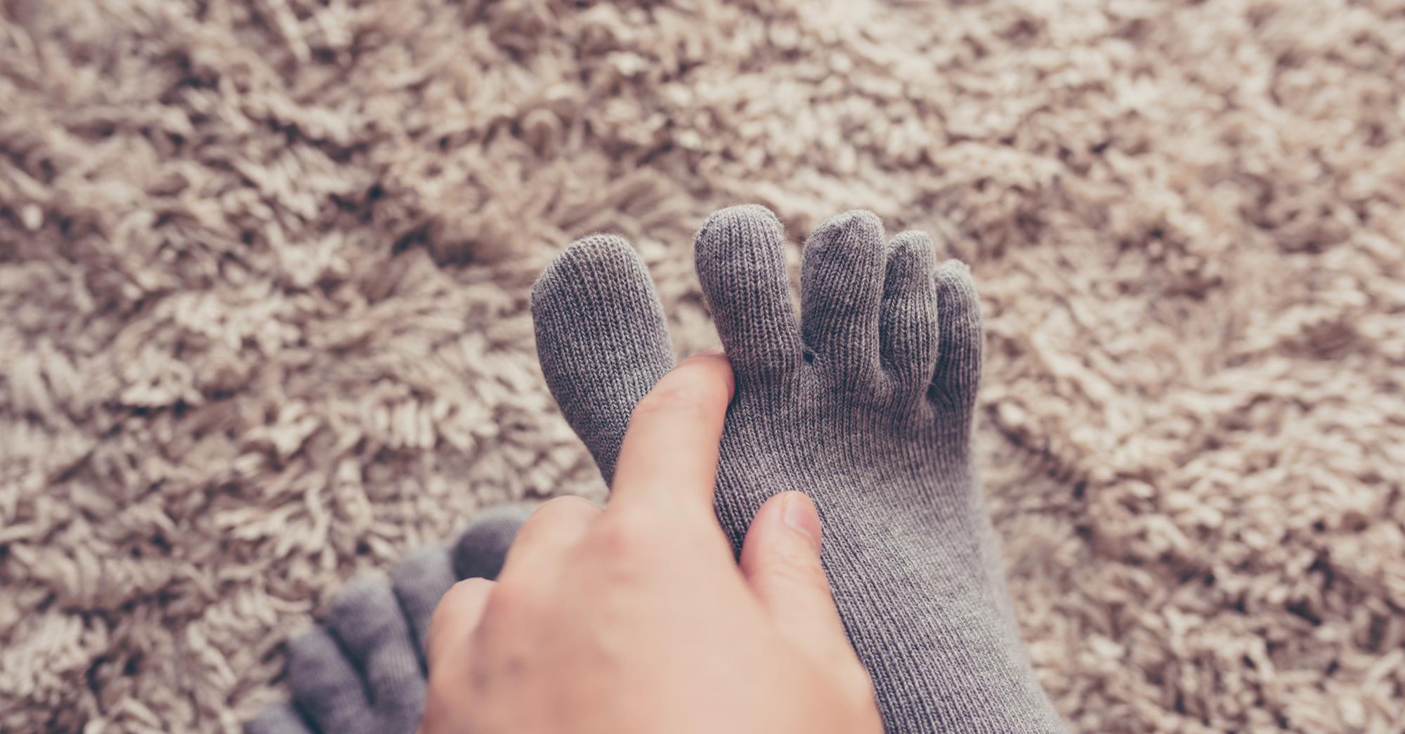 足 が 冷え て 眠れ ない