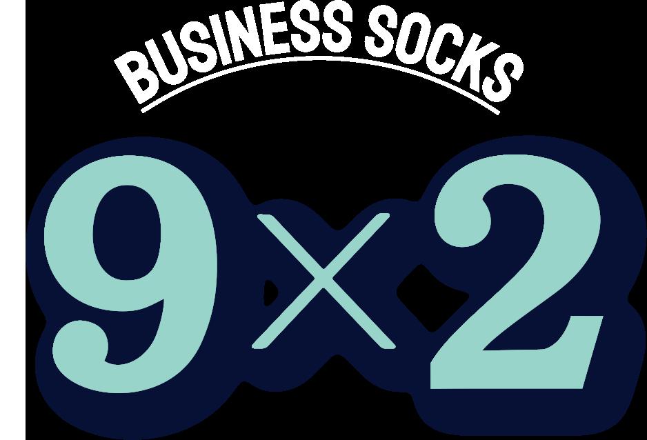 BUSINESS SOCKS 9 X 2